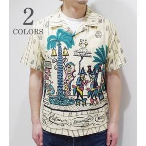 スターオブハリウッド 半袖 オープンカラーシャツ STAR OF HOLLYWOOD COWBOY TOWN OPEN SHIRT SH37284 organweb