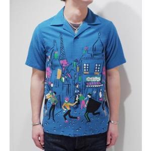 スターオブハリウッド 半袖 オープンカラーシャツ STAR OF HOLLYWOOD PARIS OPEN SHIRT SH37598 organweb