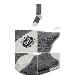 ウエス 靴下 UES ウールソックス SX-W|organweb|03
