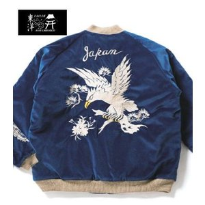 TAILOR TOYO|テーラー東洋 VELVETEEN SOUVENIR JACKET|スカジャン WHITE EAGLE×TIGER HEAD TT13839_128|organweb