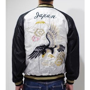 TAILOR TOYO|テーラー東洋 ACETATE SOUVENIR JACKET|スカジャン BLACK EAGLE×TANGLED DRAGONS TT14074_190|organweb