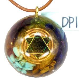 オルゴナイト プラス ドーム ペンダント トップ DP1 (パワーストーン 製品) orgoniteplus