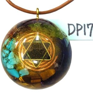オルゴナイト プラス ドーム  ペンダント トップ DP17 (パワーストーン 製品) orgoniteplus
