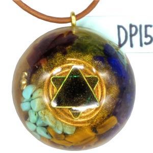 オルゴナイト プラス ドーム ペンダント トップ DP15 (パワーストーン 製品) orgoniteplus