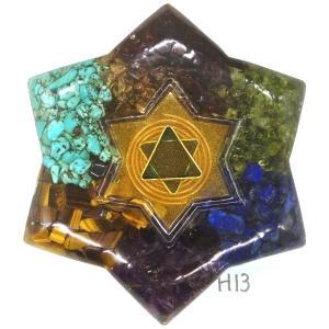 オルゴナイト プラス 星型 H13 (パワーストーン 製品)|orgoniteplus