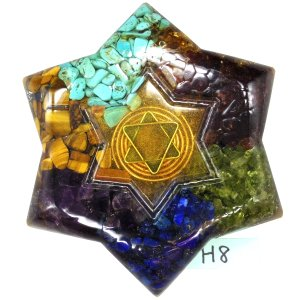 弊社開発のオルゴナイトプラスは、8種類のパワーストーンをぎっしり入れた強力なオルゴナイトに、周波数を...