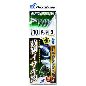 【Cpost】ハヤブサ 船極 落し込み ケイムラ&ホロ 強靭イサキ4本 SS429-8-8 鈎8号 ...