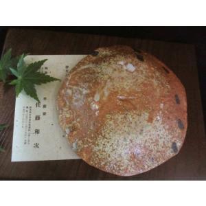 丸皿 絵織部 蟹紋五寸薬味皿(1皿) 佐藤和次|oribe-senbyo|02