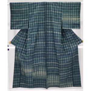米沢紬 身丈160cm 裄64cm 伝統の草木染|oribe