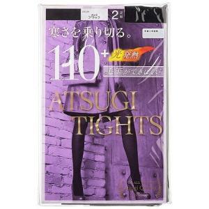 アツギタイツ(ATSUGI TIGHTS) 110Dデニール L〜LL 2足組 ブラック黒|oriennto