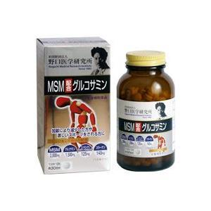 グルコサミン サプリメント 野口医学研究所 MSM配合グルコサミン|oriennto