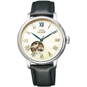 シチズン時計『CLUB LA MER(クラブ・ラ・メール)レザーバンド 機械式腕時計 ブラック』BJ7-018-10|oriennto