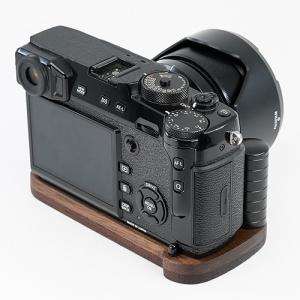 JBカメラデザイン FUJIFILM X-Pro2専用グリップ付カメラベースV2.0 <ウェンジ+ウ...