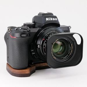 JBカメラデザイン Nikon Z50専用カメラベースV2.0 <ウェンジ+ウォルナット>