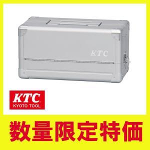 KTC 工具箱 両開きメタルケース シルバー EK-1Aの商品画像