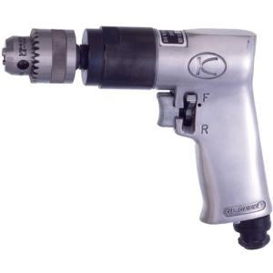 空研 KDR−901R エアードリル[10mm能力・正逆回転タイプ]