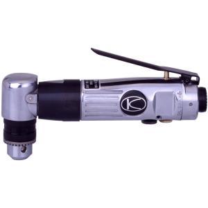 空研 KDR−902CR エアーコーナードリル[10mm能力・正逆回転タイプ]