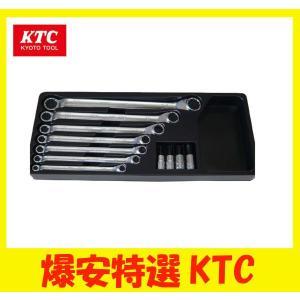 KTC メガネレンチセット 7本組&ヘキサゴンソケット4個組|oriental-kouki-1
