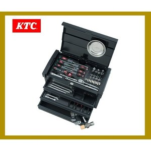 KTC 工具セット[豪華特典付き!]  9.5sq 66点組 ツールセット SK36618EGBK|oriental-kouki-1