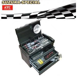 KTC工具セット [展示特価]9.5sq 67点組 ツールセット SK36718EBK-SUZUKA SPECIAL|oriental-kouki-1