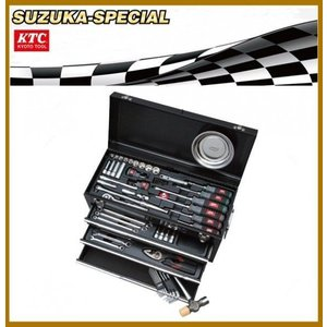 KTC工具セット [展示特価]9.5sq 67点組 ツールセット SK36718XBK-SUZUKA SPECIAL|oriental-kouki-1