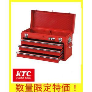 KTC 工具箱/[特典付き] ツールチェスト3段3引出し レッド SKX0213|oriental-kouki-1