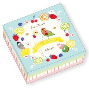 ブロックメモパッド ボー・オワゾー MP-7696 小鳥とフルーツ 果物 鳥 メモ BeauxOiseaux 日本製 オリエンタルベリー orientalberry