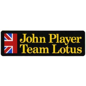 John Player Special(ジョン・プレイヤー・スペシャル)のロゴが入ったやや大きめのス...