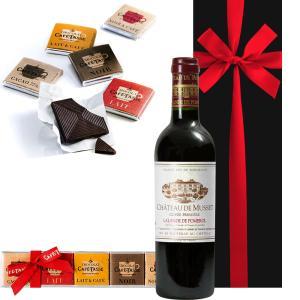 誕生日 プレゼント ワイン ギフト ベルギー チョレート セット フランス 赤ワイン お菓子 ギフト...