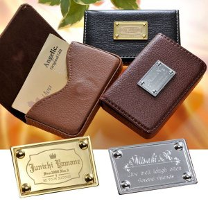 名刺ケース おしゃれ メンズ 男性用 女性用 ビジネス カードケース 名刺入れ 名入れ レザーカードケース 磁石式|original
