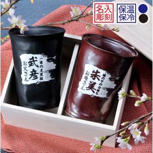 見た目はまったくふつうのカップに見えますが実は二重構造になっていて保温保冷効果抜群のカップなのです!...