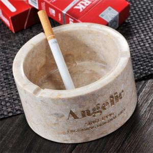 ギフト 名入れ プレゼント BALI バリ産 ストーン円柱灰皿|original