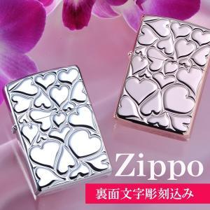 ZIPPO オイルライター 名前入り 誕生日 記念日 おまもり ギフト 名入れ ハートZIPPO|original