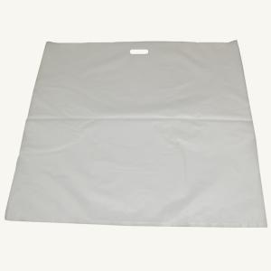ビニール袋 特大 サイズ 50枚入り テイクアウト 持ち帰り用 手提げ袋 大容量 お徳用 850mm×800mm×0.04mm 68L 白半透明 ゴミ袋 雨よけ 袋 ビニール|originalartpro