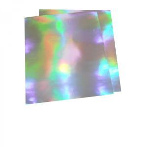 大判ホログラムシート紙 粘着なし 1枚セット レインボー 切って使える 大判 ホログラム 紙 裏面白紙 DIY ラッピング 包装紙 折り紙 画用紙 工作 色紙|originalartpro