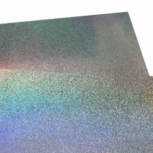 大判ホログラムシート紙 粘着なし 1枚セット サンド 切って使える 大判 ホログラム 紙 裏面白紙 DIY ラッピング 包装紙 折り紙 画用紙 工作 色紙|originalartpro