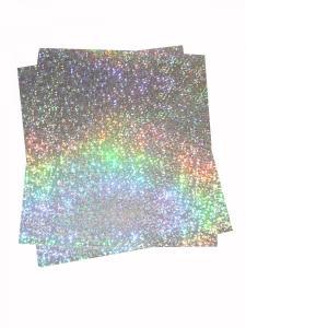 大判ホログラムシート紙 粘着なし お徳用10枚セット スモールシャタード 大判 ホログラム 紙 裏面白紙 DIY ラッピング 包装紙 折り紙 画用紙 色紙 工作|originalartpro