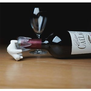 ボトルキャップ しろくま ボトルストッパー ワイン 栓 おしゃれ かわいい クオリー ボトムス アップ ベアー|oriji|02