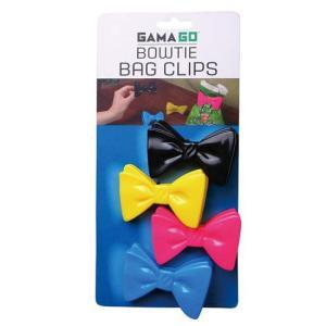 注目ブランド GAMAGO ガマゴの蝶ネクタイをモチーフのクリップ 4個セット♪ GAMAGO ガマ...