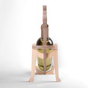 アニマルボーン ワインラック ドーベルマン おしゃれな動物の木製ワインラック oriji 03