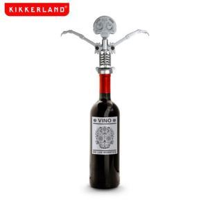 おしゃれなガイコツ スカルのワインオープナー デイ オブ ザ デッド コルクスクリュー|oriji