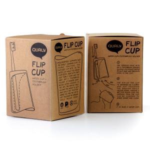 クオリー フリップカップ おしゃれ 歯ブラシスタンド 歯ブラシ立てコップ|oriji|06
