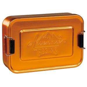ランチ ティン アルミ製 お弁当箱 ランチボックス シルバー ゴールド Wild&Wolf oriji 05