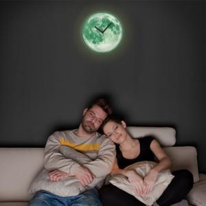 おしゃれな月の掛け時計 Kikkerland キッカーランド ムーンライトクロック