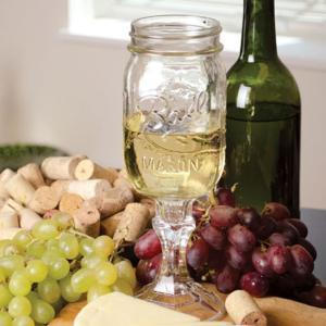 メイソンジャー レッドネック ワイングラス クリア おしゃれなワイングラス ビン|oriji