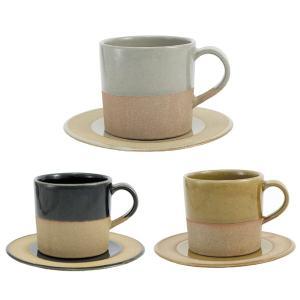 SOIL ソイル マグカップとプレートのセット カップ&ソーサー コーヒーカップ 陶器|oriji