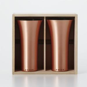 純銅製 タンブラー 2個セット マット ペアセット ビールグラス 日本製 WDH oriji