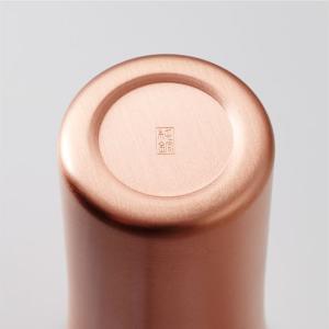 純銅製 タンブラー 2個セット マット ペアセット ビールグラス 日本製 WDH oriji 03