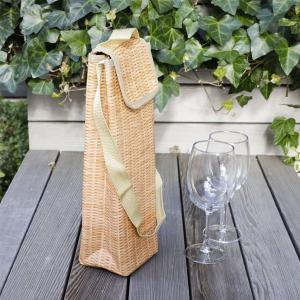 キッカーランド ウィッカー ワインクーラー 保冷バッグ ワインバッグ|oriji