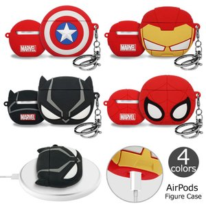 MARVEL AirPods Figure Case エアーポッズ 収納 ケース カバー
